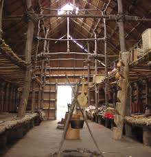 Bark Longhouse Ganondagan